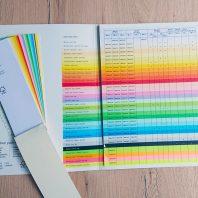 Farben-Papier
