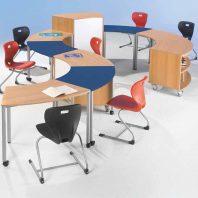 Schulmoebel-Tischsystem